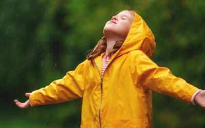 Following God May Be Learning To Be Held In The Rain